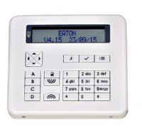 KEY-FKPZ-WH- Flush mount keypad bright white finish